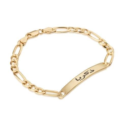 Custom Arabic Men's Name Bracelet - Beleco Jewelry