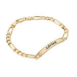 Custom Men's Name Bracelet - Beleco Jewelry