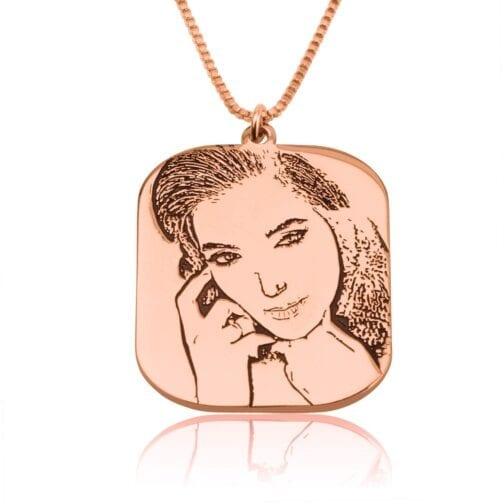 Custom Portrait Necklace - Beleco Jewelry