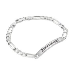 Custom Russian Men's Name Bracelet - Beleco Jewelry