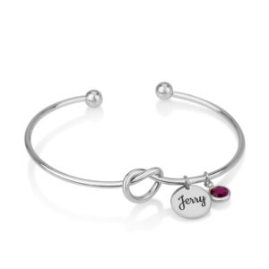 Customize Bangle Charm Bracelet - Beleco Jewelry
