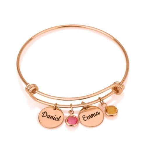 Customize Disk Bracelet - Beleco Jewelry