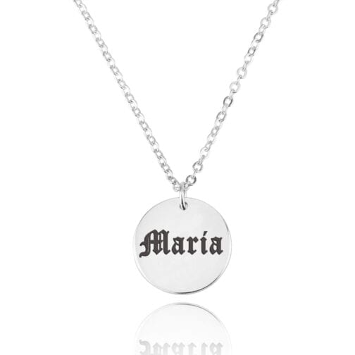 Gothic Disc Necklace - Beleco Jewelry