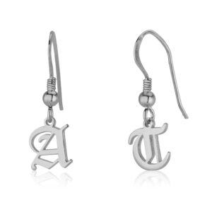 Initial Earrings - Beleco Jewelry