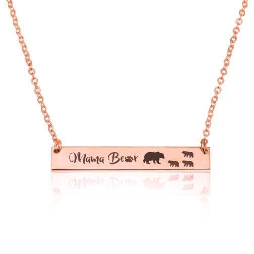 Mama Bear Necklace - Beleco Jewelry