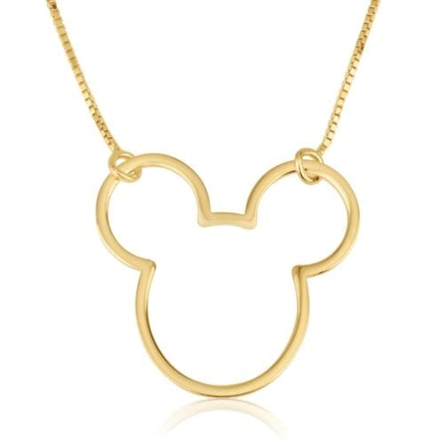 Mickey Mouse Necklace - Beleco Jewelry
