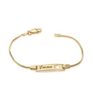 Personalized Baby Name Bracelet - Beleco Jewelry