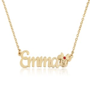Personalized Minnie Mouse Name Necklace - Beleco Jewelry