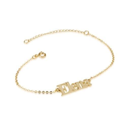 Personalized Name Bracelet - Beleco Jewelry