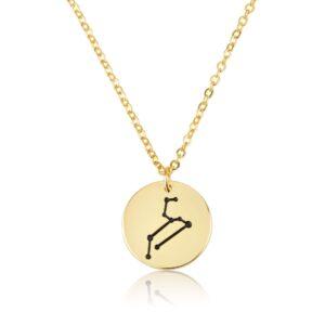 Zodiac Sigh Necklace - Beleco Jewelry